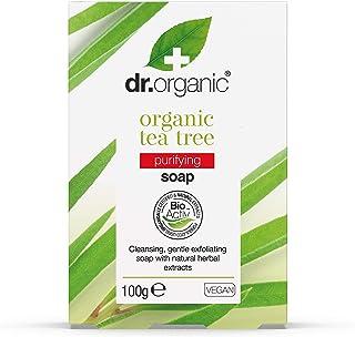 Dr Organic- Tea Tree  Jabón   100 gr