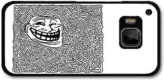 Meme Troll Face Labyrinth Emoticon Emoji case for HTC One M9