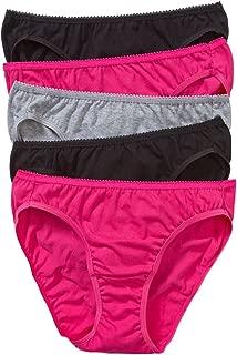 Hanes Women's Underwear Cotton Bikini Brief (5 Pack)