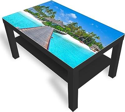 Dekoglas Ikea Table Dappoint En Verre Avec Plateau En Verre