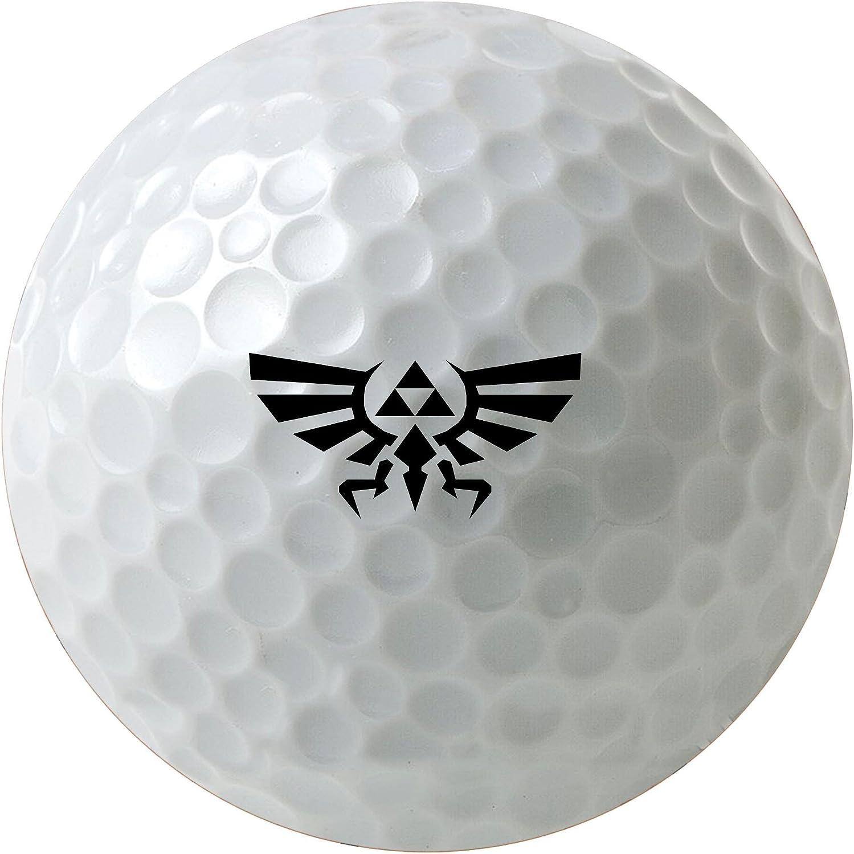 Luxury MWCustoms Legend of Zelda Triforce Printed 3-Pack Golf Art Crest Max 62% OFF