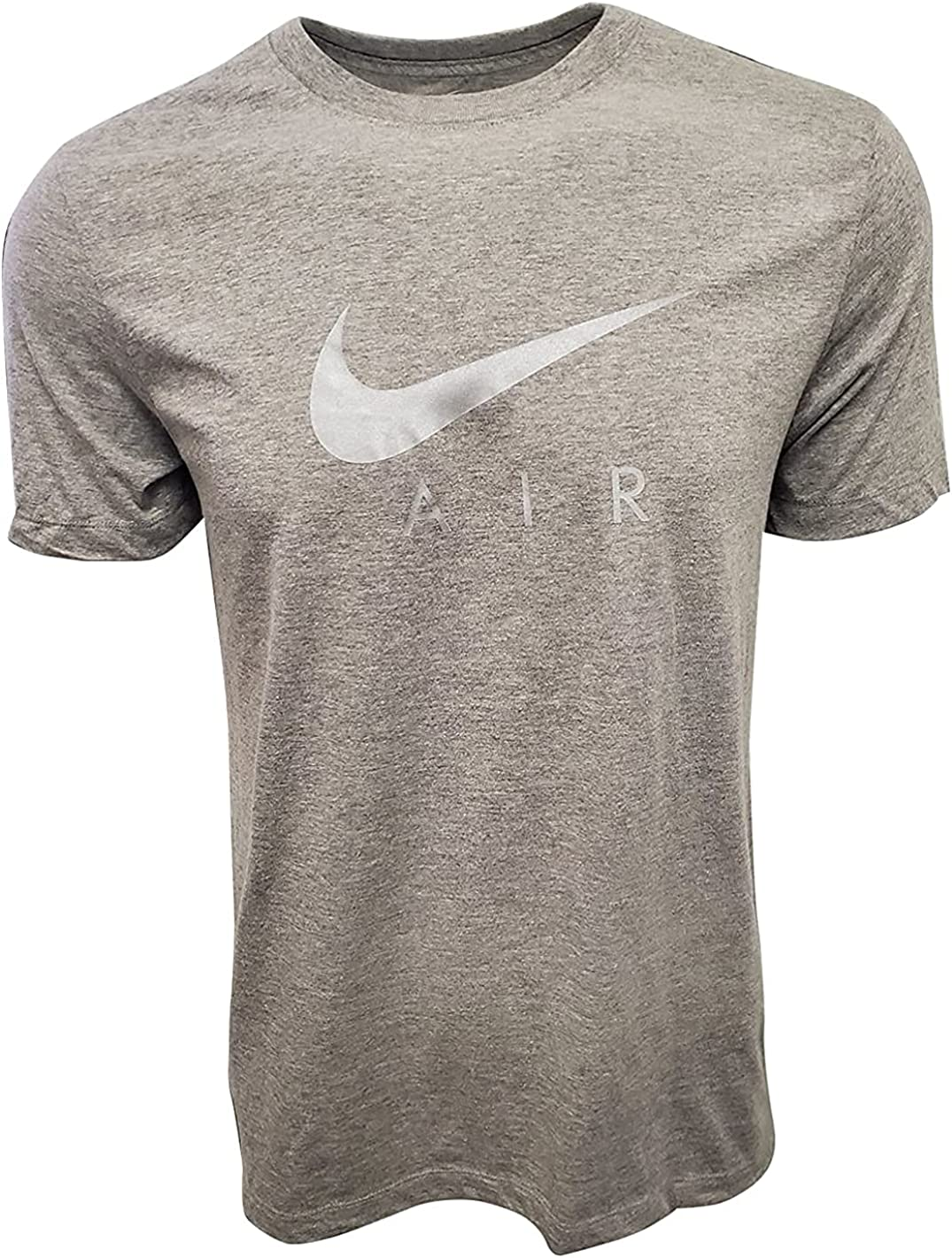 Nike Men's Swoosh Air Metallic Graphic Tee Manufacturer OFFicial All stores are sold shop Black Small