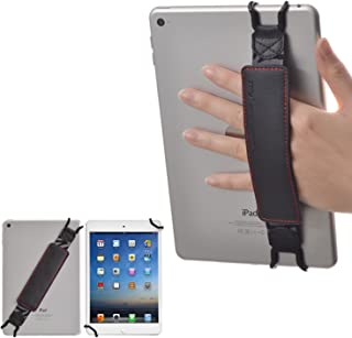 "TFY PU Material Hand Strap Holder Supporter for 7 to 10 Inch Tablets - Fire 7"" / Fire HD 8 / Fire HD 10 / iPad Pro 9.7"" / ..."