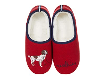 Joules Slippet (Red Walkies) Women