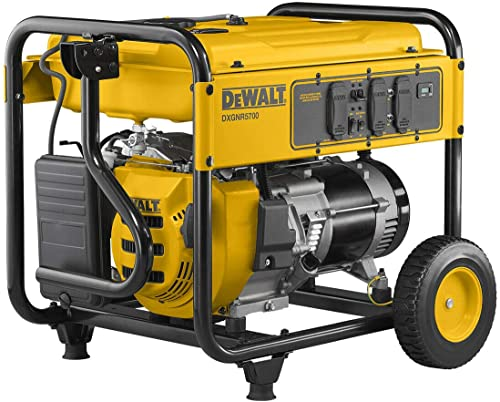 new arrival DEWALT PMC165700.01 popular DXGNR5700 Portable Generator, Yellow, outlet sale Black online