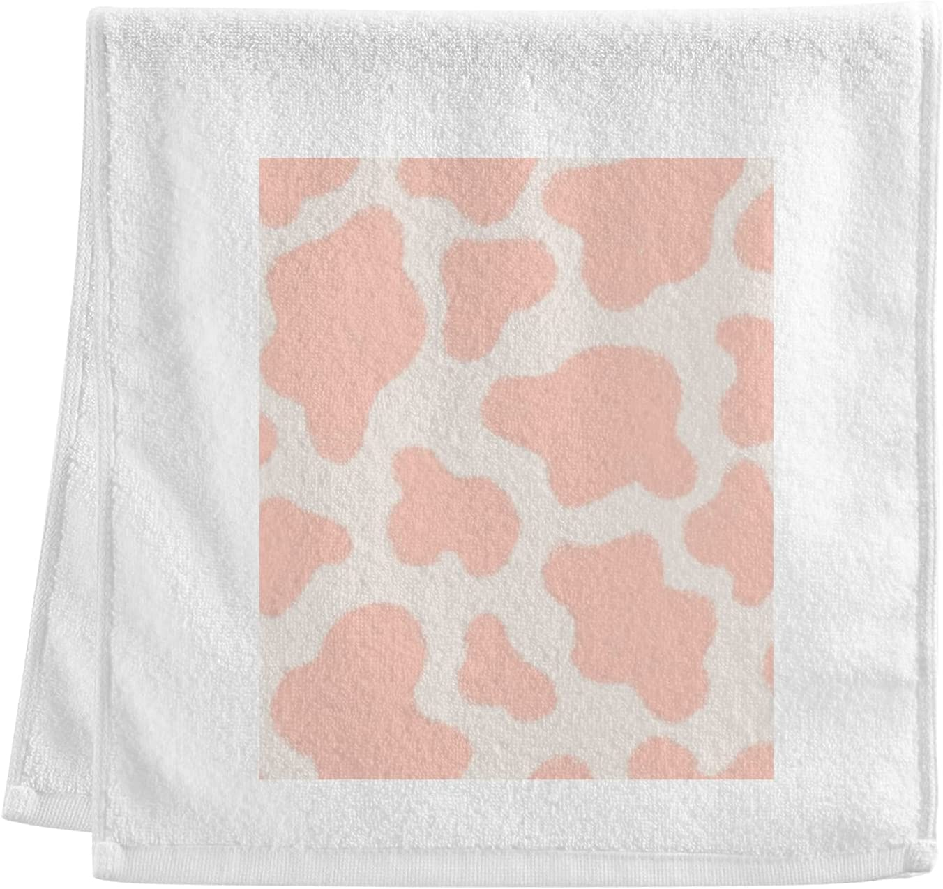 New products, world's highest quality popular! ALAZA 100% Cheap sale Hand Towels Washcloths Cow Print Pink Abstra Giraffe