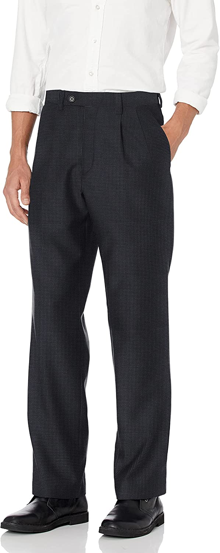 Steve Harvey Men's Check Regular Fit Suit Separate Pant