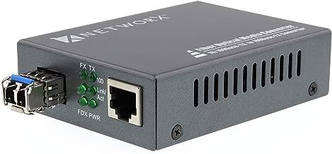 Networx Fiber Media Converter - UTP to 100Base-FX - LC Singlemode, 20km, 1310nm