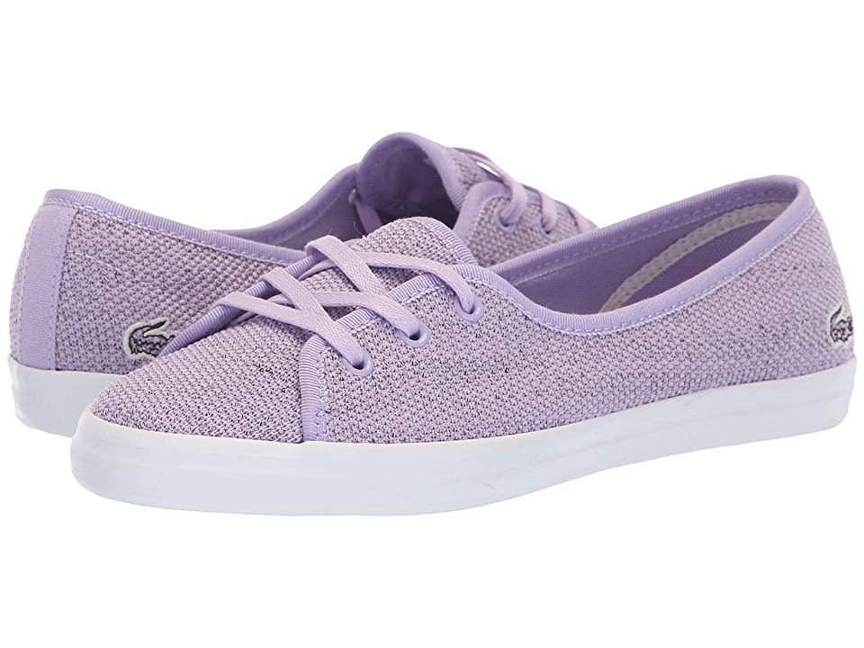 Lacoste Ziane Chunky 318 4 (Light Purple/White) Women