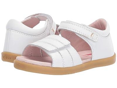 Bobux Kids I-Walk Hampton (Toddler) (White) Girls Shoes
