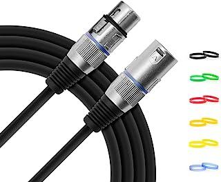 Tiger MIC4-03 - Cable para micrófono XLR (3 m)
