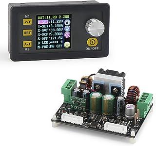 Boost Buck Converter, DROK Numerical Control Buck Boost Voltage Power Regulator Module DC 6V-40V 24v to DC 0-32V 5v 12v Ad...