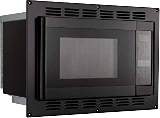 RecPro RV Convection Microwave Black 1.1 Cu. ft   120V   Microwave   Appliances   Direct Replacement for High Pointe