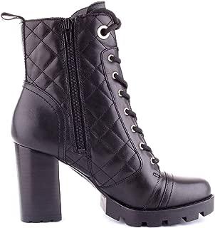 Guess Luxury Fashion Womens FL7RRLLEA10BLACK Black Ankle Boots | Fall Winter 19