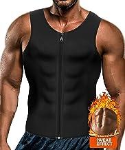 Yokald mannen sauna zweet rits vest voor gewichtsverlies hete neopreen korset taille trainer body top shapewear afslanken ...