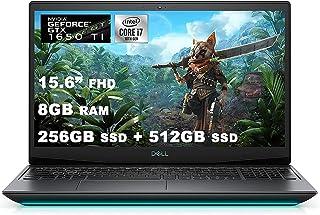 2021 Flagship Dell G5 15 ゲーミングノートパソコン 15.6インチ FHD ディスプレイ 第10世代 Intel Hexa-Core i7-10750H 8GB DDR4 256GB SSD + 512GB SSD GT...