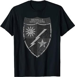 Merrill's Marauders WWII Era Unit Insignia Subdued Vintage T-Shirt