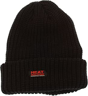 Mens Adults Knitted 3.3 Tog Polar Fleece Insulated Thermal Beanie Hats
