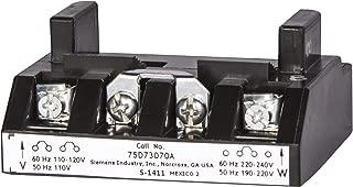 Siemens 75D73070V Starter and Contactor DC Coil, 00-2-1/2 Size, P U ESP200 Model, 125V DC