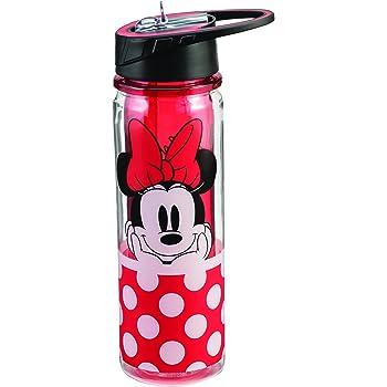 Amazon Com Planet Zak Minnie Mouse Tritan Water Bottle