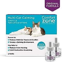 Comfort Zone BASIC Multicat Refill for Cat Calming 2 Pack