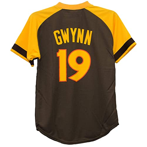 131f21f9 Majestic Tony Gwynn San Diego Padres #19 Youth Cool Base Cooperstown Jersey