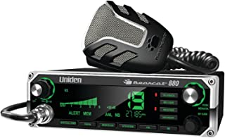 Uniden BEARCAT 880 CB Radio with 40 Channels and Large Easy-to-Read 7-Color LCD Display with Backlighting, Backlit Control Knobs/Buttons, NOAA Weather Alert, PA/CB Switch, and Wireless Mic Compatible