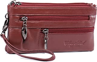 Katloo Small Crossbody Phone Purse Women Shoulder Bag Leather Wristlet Wallet