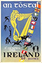 Greetings An Tostal Ireland at Home Pageant 1953 Postal used Postcard JE229181