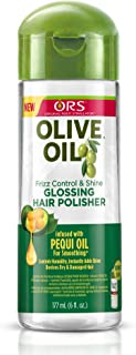 Ors Organic Root Stimulator Olive Oil Anti-Frizz Glossing Polisher For Hair 6 Oz