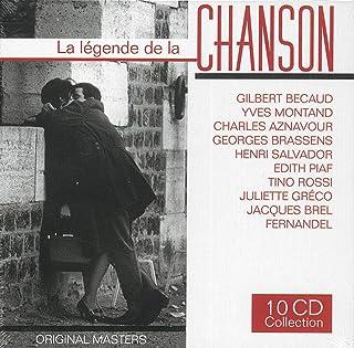 La Legende de la Chanson (Coffret 10CD)