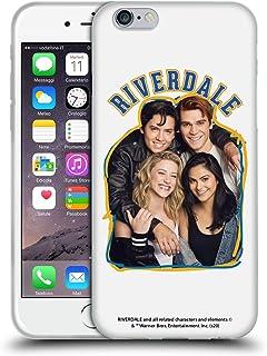 Officiële Riverdale Riverdale Cast 2 Kunst Soft Gel Case Compatibel voor Apple iPhone 6 / iPhone 6s