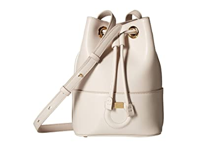 Salvatore Ferragamo Small City Bucket Bag (Jasmine Flower) Handbags