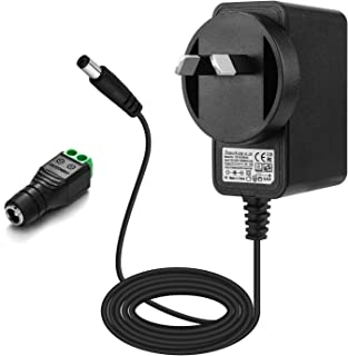 EFISH AU Switching Power Supply Adapter 12V 2A 24W,AC 100-240V to DC 12V Charger Cord,for Security Dome/Bullet Camera,Hubs...