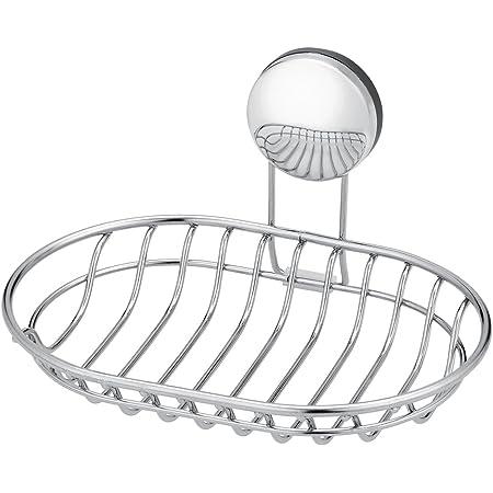 レック お風呂の壁に マグネット 石けん皿 ( 強力磁石 ) ステンレス B00077