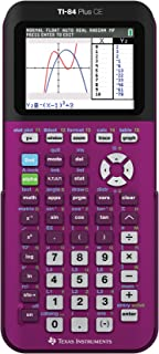 Texas Instruments TI-84 Plus CE Plum Graphing Calculator