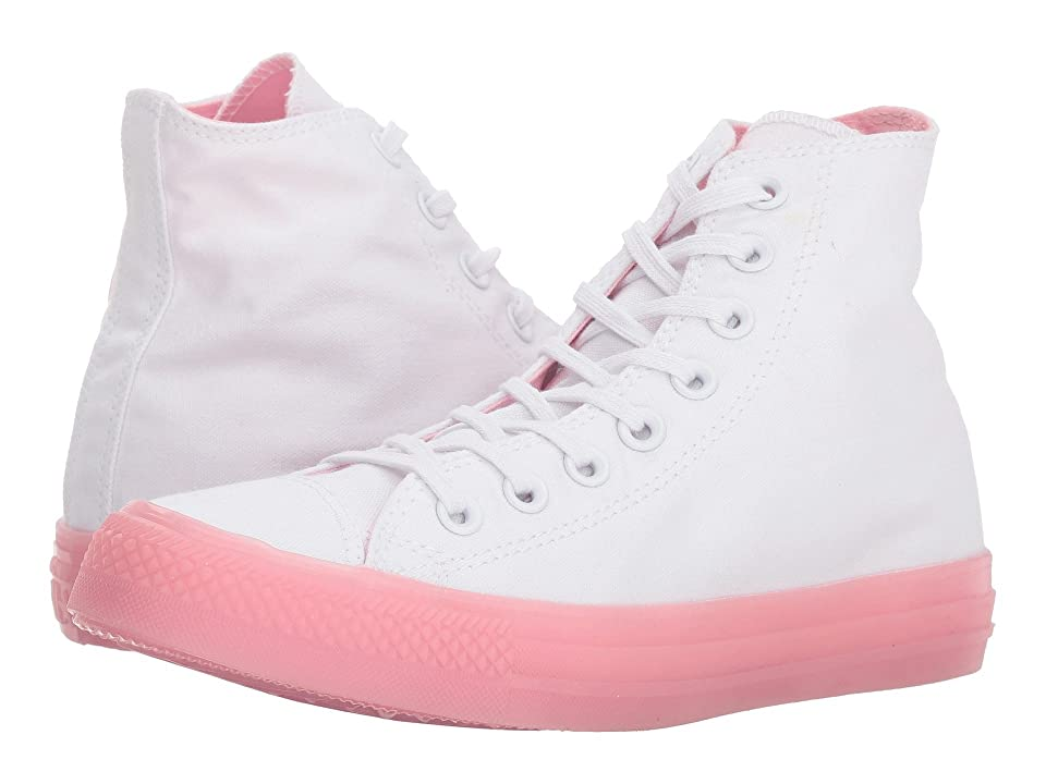 Converse Chuck Taylor(r) All Star(r) Hi Jelly (White/Cherry Blossom/Cherry Blossom) Women