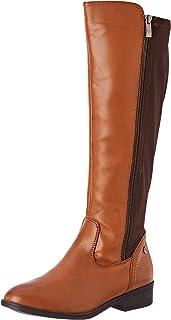 c605c3de Amazon.es: botas altas mujer - Marrón