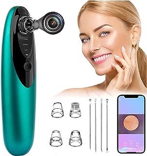 Blackhead Remover Pore Vacuum with Camera, SIMOEFFI Facial Pore Cleaner Blackhead Electric Acne Extractor Tool, Phone Link...