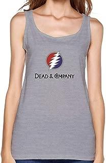 TIANRUN Women's Dead Company Logo top