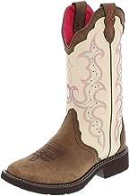 Justin Boots Damen Cowboy Stiefel L2919 Brown Westernreitstiefel Lederstiefel Braun