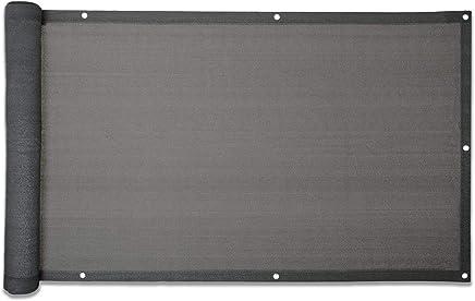 Balkonsichtschutz 600 X 90 Cm Grau Mit BefestigungsmaterialGrau