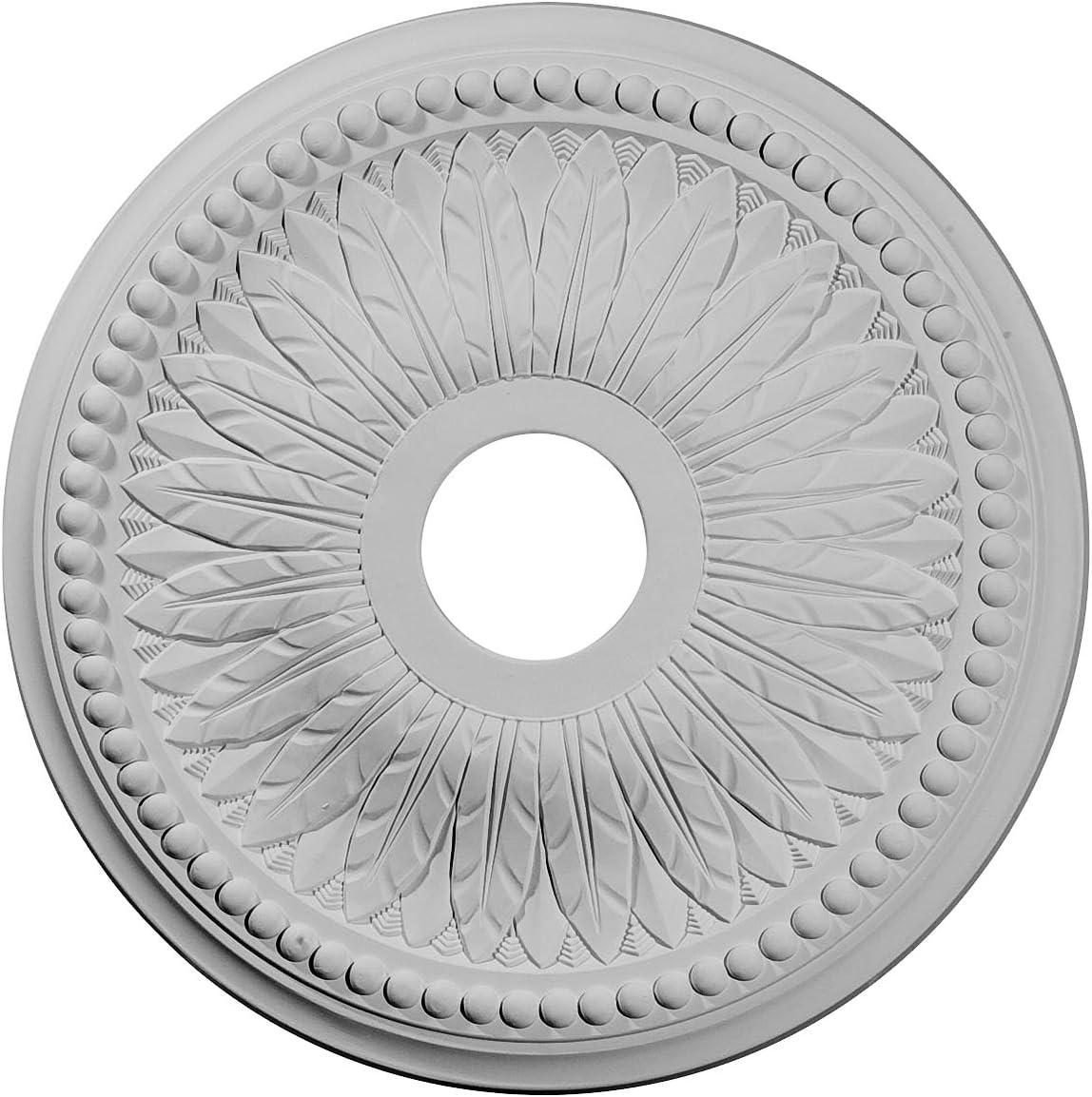 Ekena Millwork CM18BI Bailey Ceiling Direct stock discount Medallion x Luxury goods 3 4