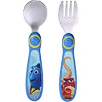 The First Years Disney/Pixar Dory Stainless Steel Flatware for Kids