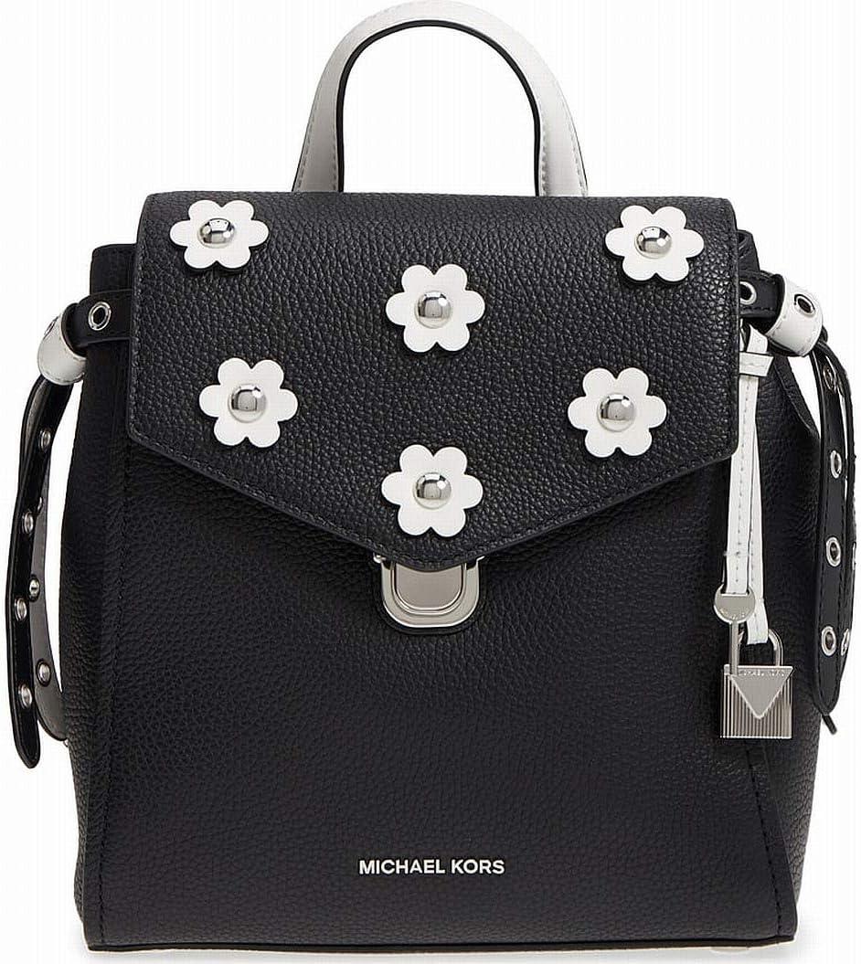 MICHAEL Michael Kors Bristol Small Black Optic Max 50% OFF Backpack White F Topics on TV