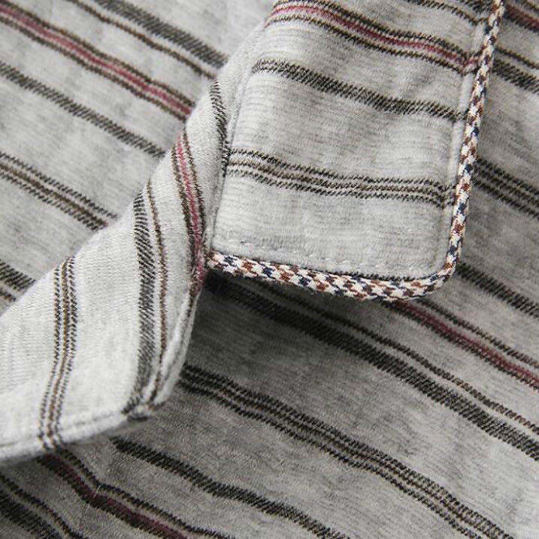 Colygamala Men's Cotton Flannel Long Sleeve Sleep Top and Bottom Pajama Set Lounge Set