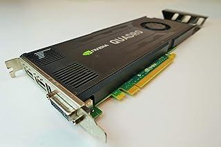 DELL nVidia QUADRO K4000 Kepler 3 Gb GDDR5 PCI-E, 768 núcleos CUDA, tarjeta gráfica profesional para estación de trabajo, ...