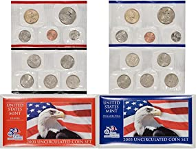 2003 us mint uncirculated coin set