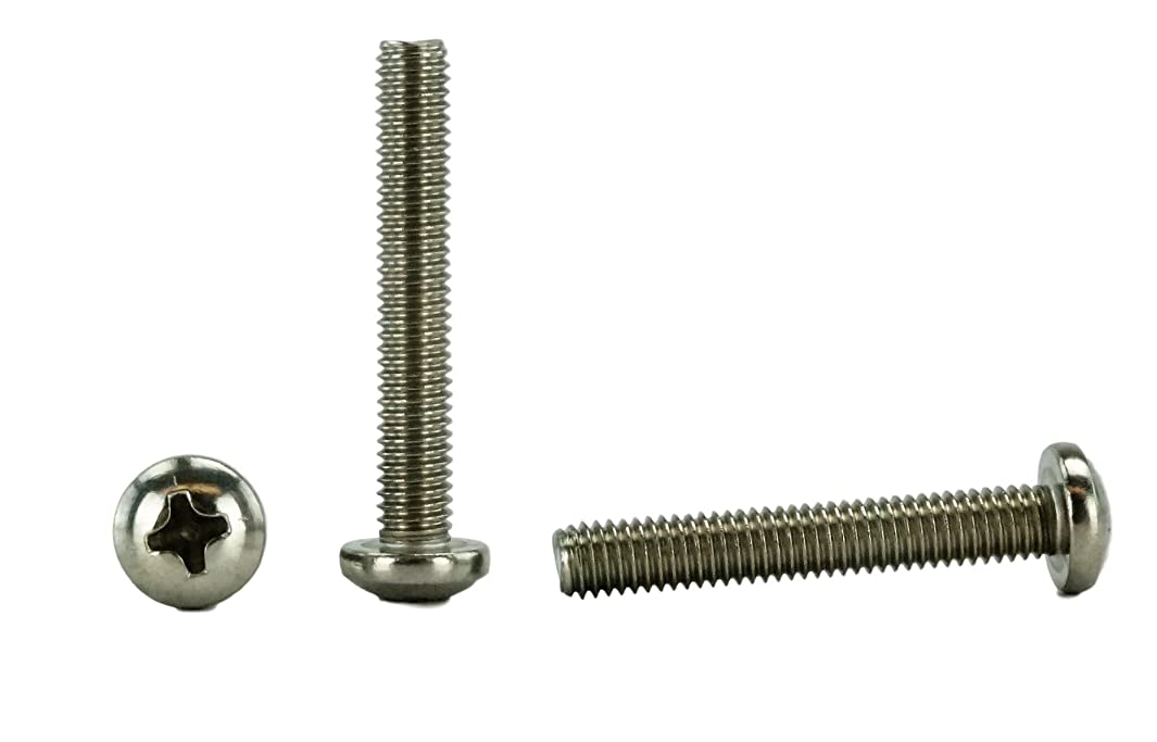 Stainless 10-32 x 1-1/4 (1/2 to 3