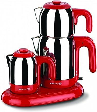 Korkmaz A353-01 Çay Kahve Makinesi Kirmizi